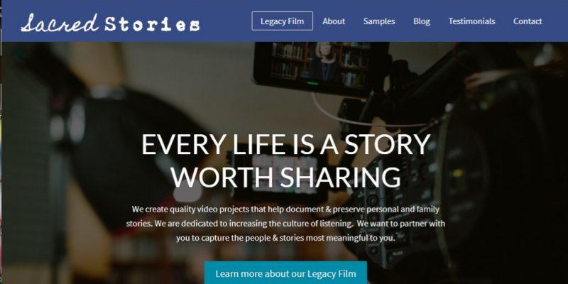 Sacred Stories Website